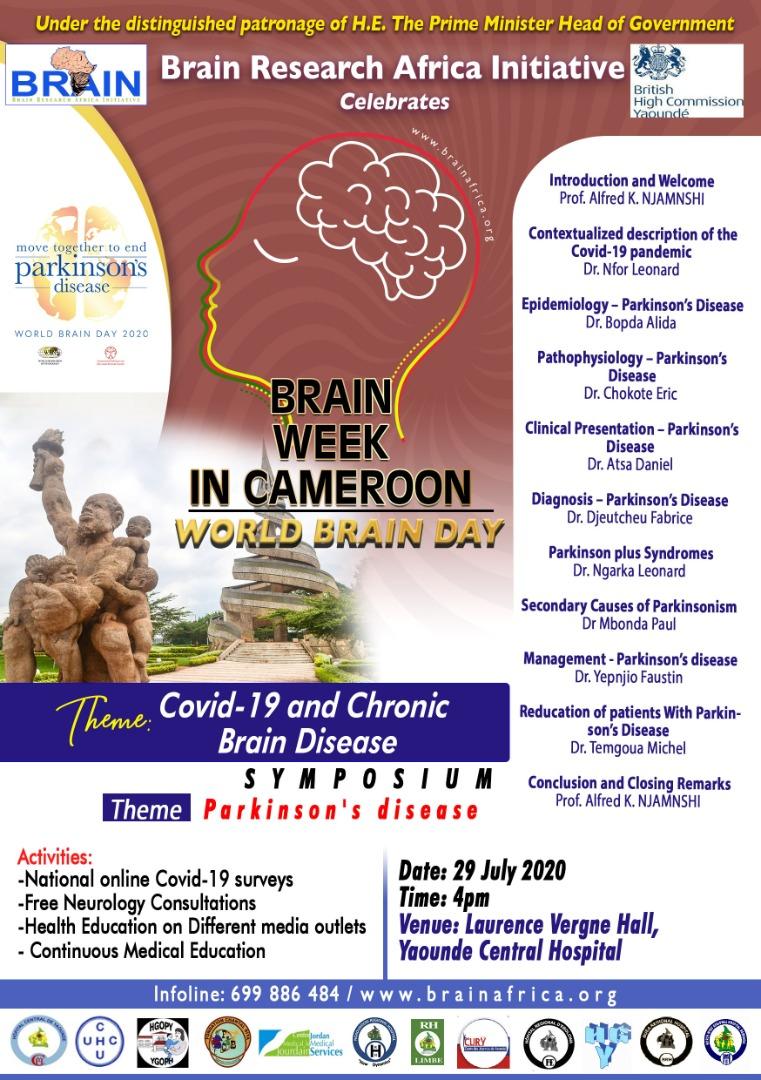 Brain Week Cameroon, Covid-19 and Chronic Brain Disease
