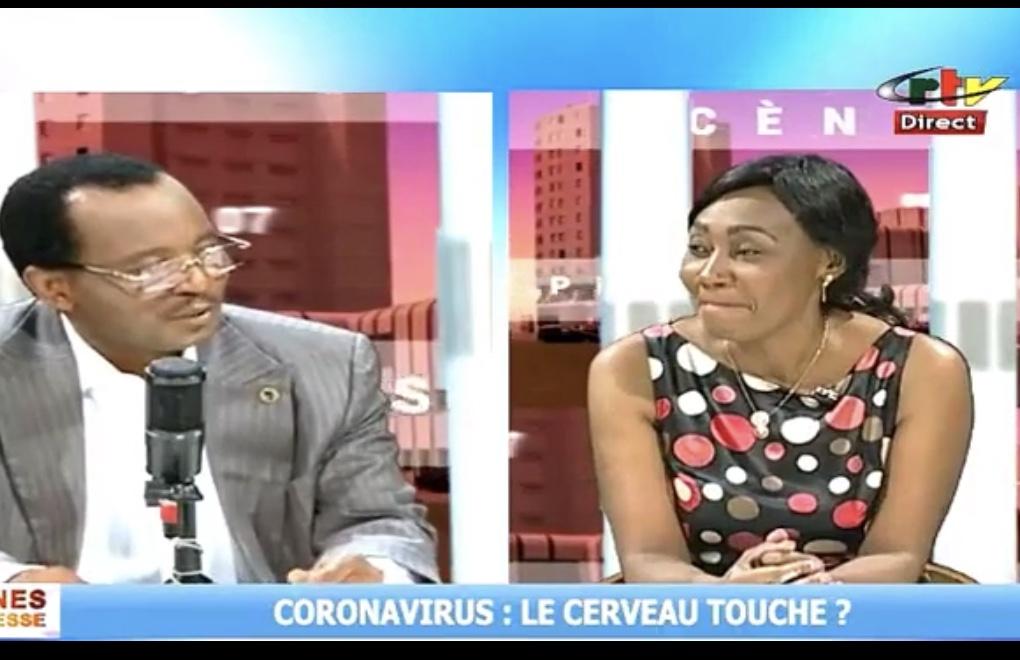 Le cerveau est touché par la COVID-19: les explications du Directeur Exécutif de BRAIN dans Scenes de Presse à la CRTV